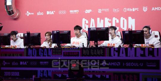 [포토] 게임콘 2019 서울, 다이아TV-샌드박스 대결